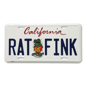 ★ラット フィンク カリフォルニア プレート #RATFINK 正規品