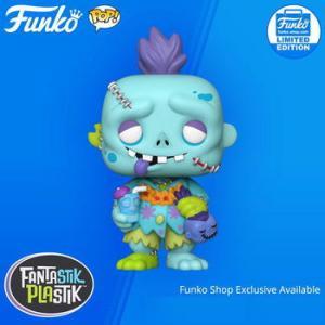 ★ゾンビ フィギュア Fantastik Plastik Trader Grim w: Shrunken Head
