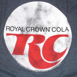 ★RC コーラ #Tシャツ Royal Crown Cola ロゴ 正規品 ローヤルクラウン・コーラ