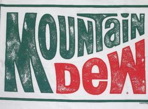 ★マウンテン デュー #Tシャツ Mountain Dew 白 正規品 再入荷予定 #ドリンク