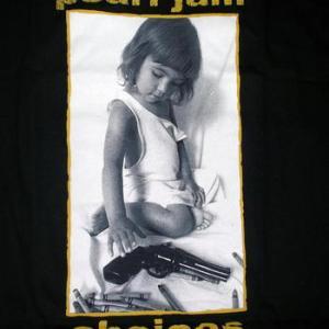 ★パール ジャム Tシャツ Pearl Jam CHOICE , STICK MAN 正規品 #ロックTシャツ