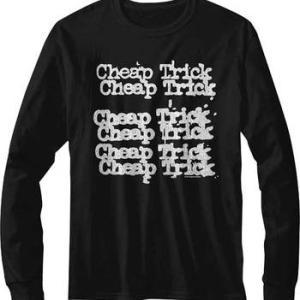 ★チープ トリック Tシャツ ロンTee Cheap Trick #ロックTシャツ #バンドTシャツ