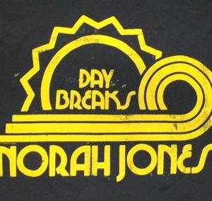 ★ノラ ジョーンズ #Tシャツ NORAH JONES, DAY BREAKS 正規品