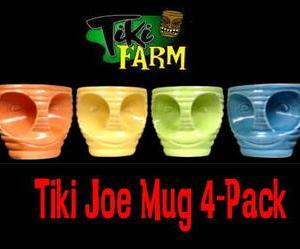 ★Tiki Farm ティキ ファーム #ティキマグ Tiki Joe 4pセット #雑貨