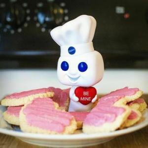 ★ドゥー ボーイ POP フィギュア Pillsbury Doughboy with Heart #FUNKO