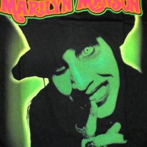 ★マリリン マンソン Tシャツ Marilyn Manson Smells Like 正規品 ロックTシャツ