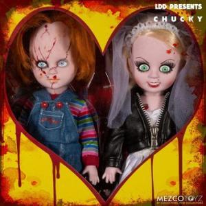 ★チャッキー LDD フィギュア with ティファニー, Living Dead Dolls #CHUCKY