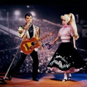 ★エルヴィス プレスリー バービー ドール #Barbie Loves #Elvis Presley フィギュア