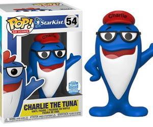 ★チャーリー ザ ツナ POP フィギュア Charlie the Tuna StarKist FUNKO TOY
