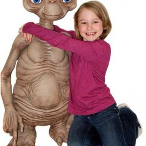 ★E.T. フィギュア 入荷 等身大 ET the Extra-Terrestrial - Stunt Puppet
