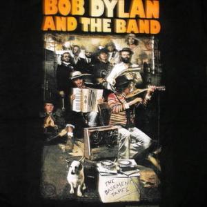 ★ボブ ディラン Tシャツ Bob Dylan BASEMENT TAPES 正規品 #ロックTシャツ
