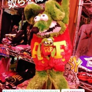★ラット フィンク プラッシュ ドール ティッシュケース Rat Fink ぬいぐるみ TOY 雑貨