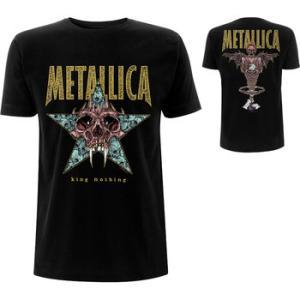 ★ #メタリカ Tシャツ METALLICA King of Nothing 正規品 #ロックTシャツ