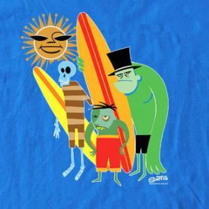 ★シャグ Tシャツ SHAG Beach Bunch , 5Tikis 正規品 入荷予定