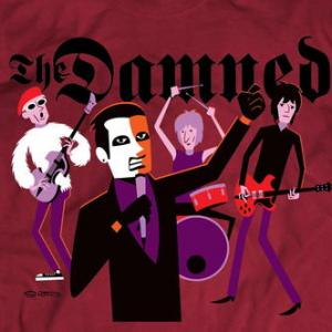 ★ザ・ダムド × シャグ Tシャツ The DAMNED × SHAG 正規品 #ロックTシャツ