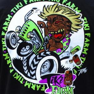★ティキ ファーム #Tシャツ!  Tiki Farm by The PIZZ