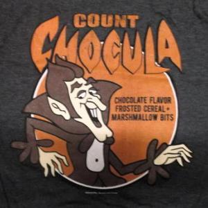 ★カウント ショコラ Tシャツ COUNT CHOCULA 正規品 General Mills シリアル カンパニー