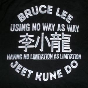 ★ブルース・リー Tシャツ Bruce Lee 李小龍 正規品 Jeet Kune Do ジークン道