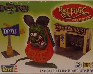 ★ラット フィンク モデルキット Revell Rat Fink Plastic Model Kit #プラモデル