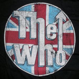 ★ザ・フー Tシャツ The WHO DISTRESSED UNION JACK 正規品 #ロックTシャツ