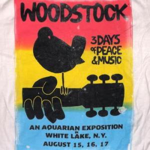★ ウッドストック Tシャツ WOODSTOCK WHITE LAKE 正規品 入荷! #ロックTシャツ