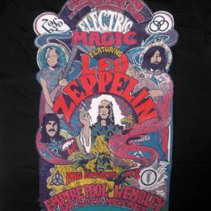 ★レッド ツェッペリン Tシャツ Led Zeppelin 電気じかけの魔術師 #ロックTシャツ