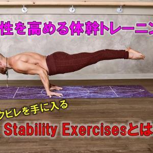 """安定性を高める最強の体幹トレーニング""""StabilityExercises""""を勧める1番の理由"""
