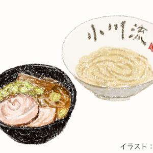 煮干しの効いたダシと豚バラチャーシューが美味しいラーメン「小川流」