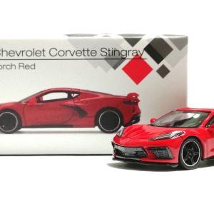 MINI GT シボレー コルベット スティングレイ(トーチレッド)
