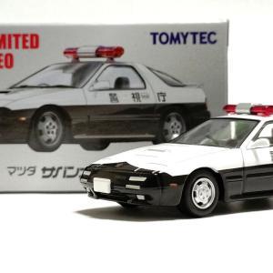 トミカリミテッドヴィンテージNEO LV-N214a マツダ サバンナRX-7 パトロールカー(警視庁)