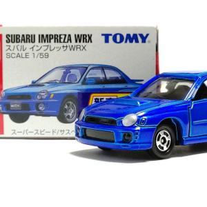 トミカ No.54 スバル インプレッサWRX