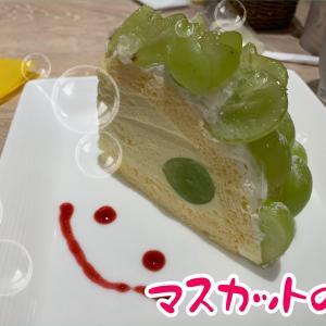 マスカットのケーキが食べたくてチーズエッグガーデン松戸へ