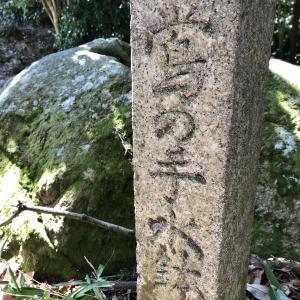 武田山登りました(その8)鶯の手水鉢から武者溜までです。戦国時代です。