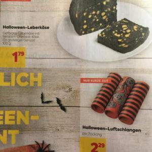 BILLAで期間限定発売中のHalloween-Leberkäseを食べてみた!