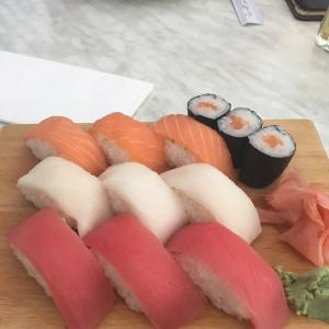 オーストリアで食べたお寿司を紹介していく!!!