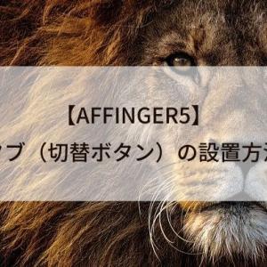 【AFFINGER5】タブ(切替ボタン)の設置方法を紹介!