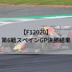 【F12020】第6戦スペインGP決勝結果