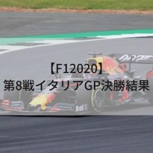 【F12020】第8戦イタリアGP決勝結果