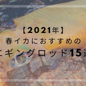 【2021年】春イカにおすすめのエギングロッド15選|メーカー別に紹介します!