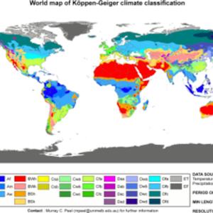 地理研究部5 ケッペンの気候区分
