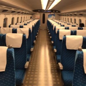 今の新幹線