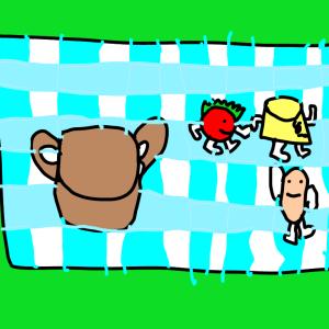 #4 動物園に行く(ゾウの背中とジャンプ台)