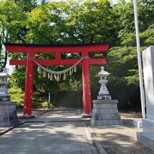 賀茂神社①かやぶき屋根とこま犬さんの巻(宮城県仙台市泉区)