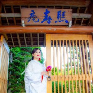 中津川 ランチ付婚礼前撮り@ 照寿庵