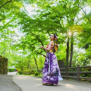 きものドレスで新しい日本文化を世界に発信!!