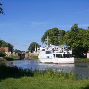 閘門(こうもん)式運河 ヨータ運河(Göta kanal)