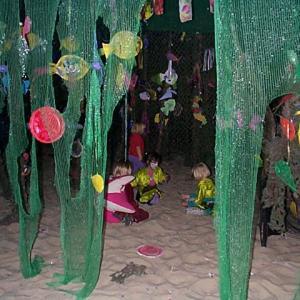 人魚姫の舞台