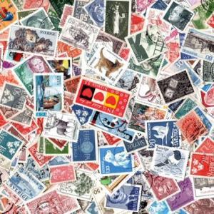 スウェーデンの使用済み切手500枚2800円