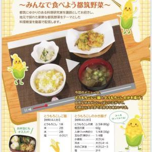 【都筑野菜クッキング】動画〜とうもろこし〜チラシできました🌽