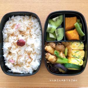 夏野菜がおいしい❣️〜今日のお弁当😊〜
